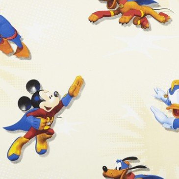 Disney Donald Duck Mickey Mouse Fabric SUPERMICK.11.140