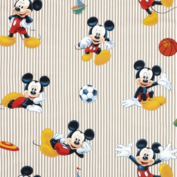 Disney Mickey Mouse Fabric SPORTMICK.13.140