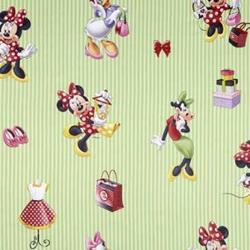 Disney Minnie Mouse Fabric SUNSHOP.45.150