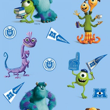 Disney Monsters Inc Fabric DIGMIKE.38.140