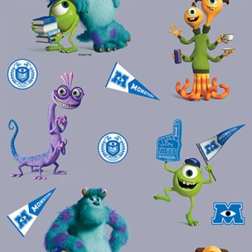 Disney Monsters Inc Fabric DIGMIKE.55.140