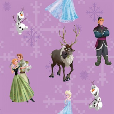 Disney Frozen Fabric ANNA.35.140