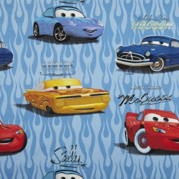 Cars Disney Fabric CUSTOMS.38.140
