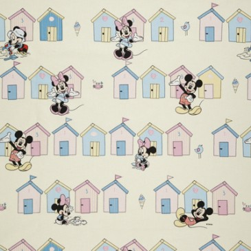 Disney Mickey Mouse Minnie Mouse Fabric BEACHHUT.11.140