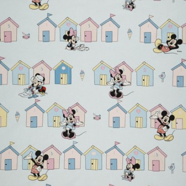 Disney Mickey Mouse Minnie Mouse Fabric BEACHHUT.38.140