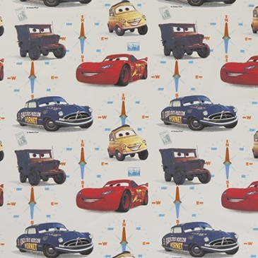 Cars Disney Fabric HORNET.11.140