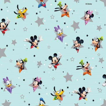 Disney Donald Duck Mickey Mouse Minnie Mouse Fabric STERN.390.140